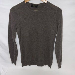Charter Club Small Grey Cashmere Sweater